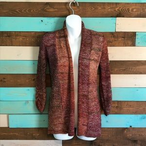 Maurices 3/4 Sleeve Rolled Front Cardigan
